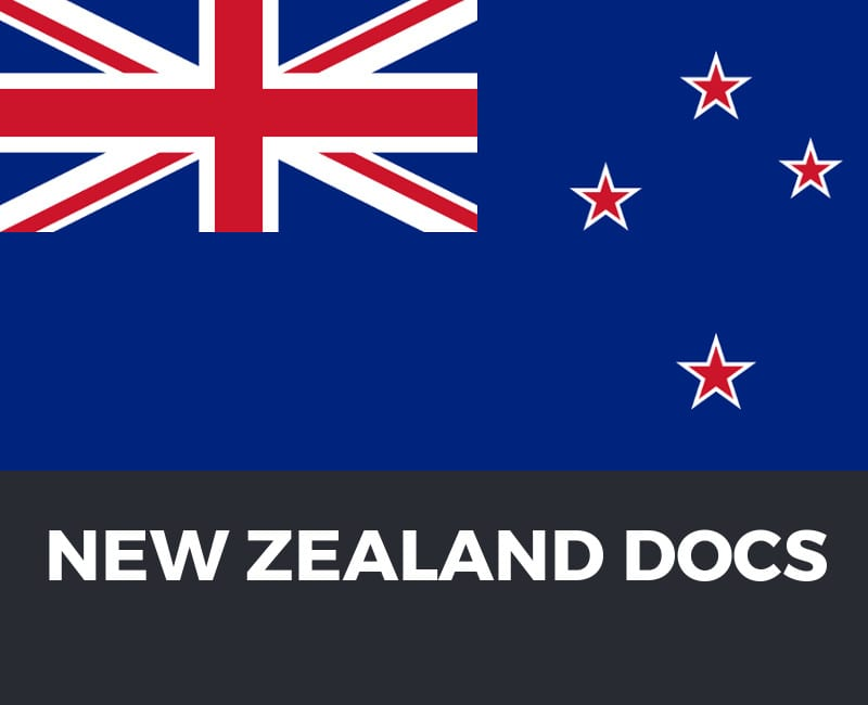 New Zealand Customs Information